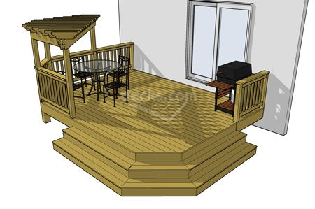 Free deck plans yard stuff pinterest