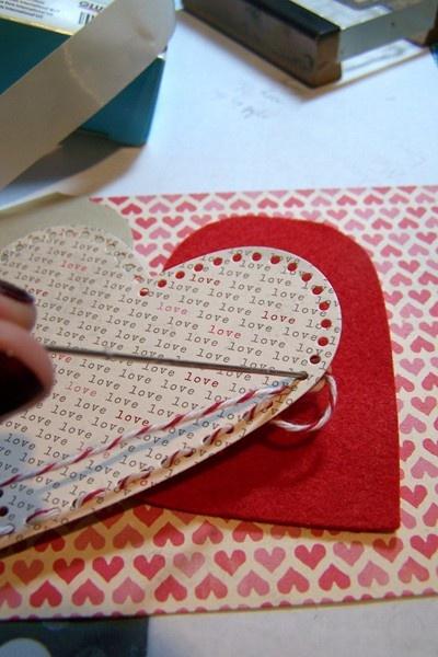 Hearts + Baker's Twine = Super Cute #2berrycreative #bakerstwine www.2berrycreative.com