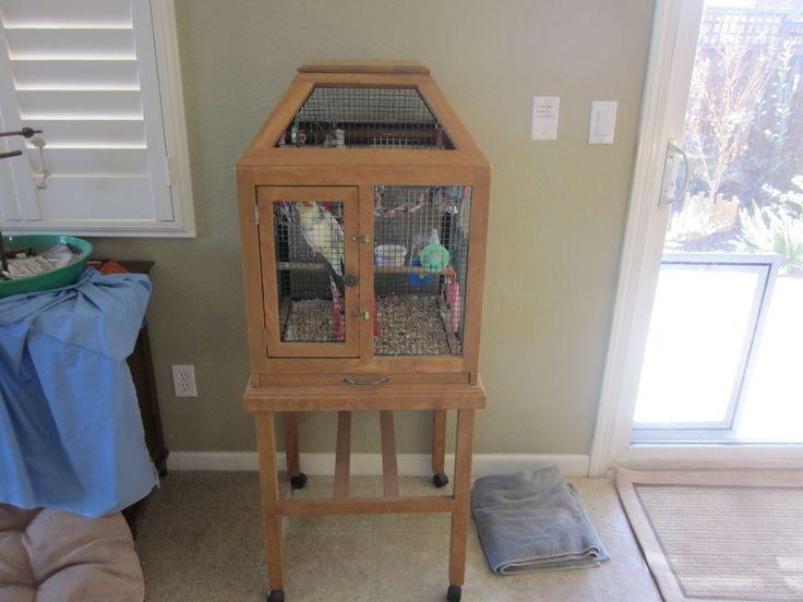 diy bird cage. Black Bedroom Furniture Sets. Home Design Ideas