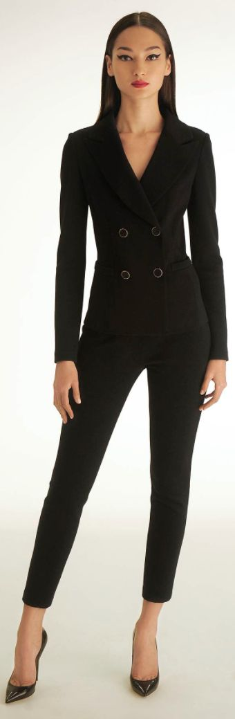St. John Spring 2013 | the return of the black pantsuit