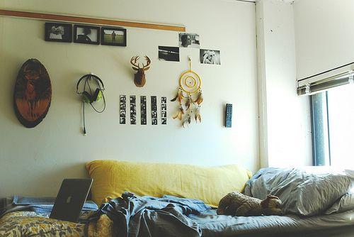Likes  Tumblr  basics; indie vintage  Pinterest ~ 013040_Indie Dorm Room Ideas