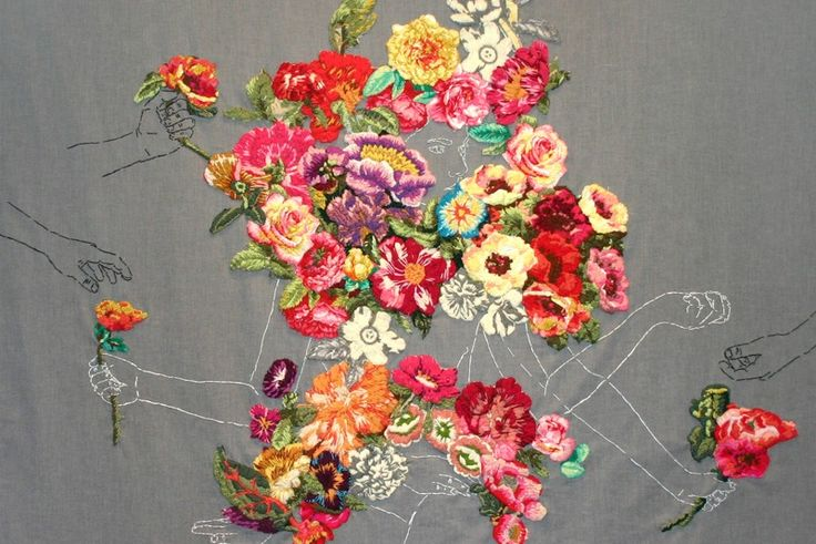 Embroidery art mastered fashion courses