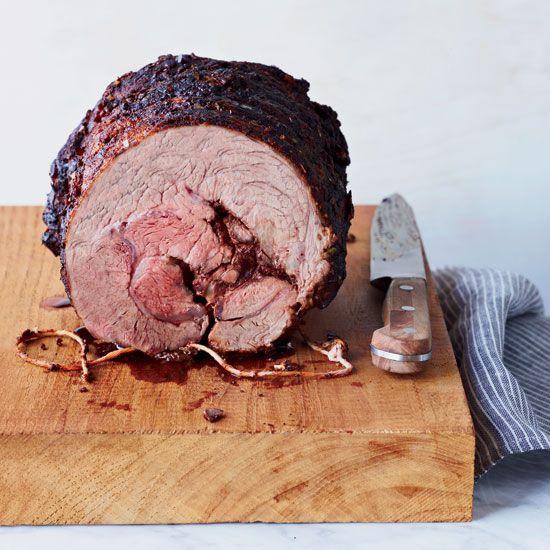 Eye Roast with Paprika-Herb Rub | This simple, flavorful beef roast ...