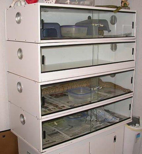 Vivarium equipment