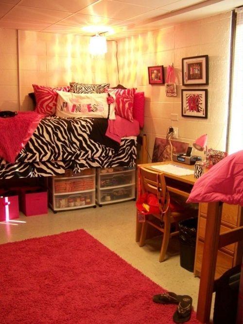 Dorm Rooms Decor College Pinterest