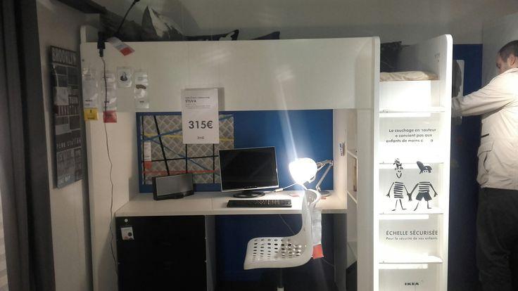 1000 ideas about lit mezzanine ikea on pinterest for Miroir ikea stave