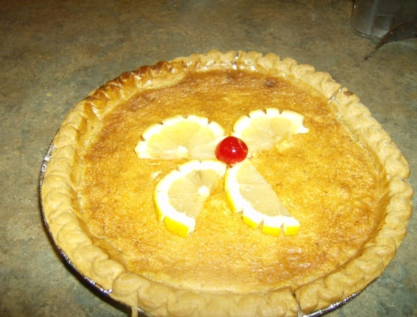 LEMON CHESS PIE - | Food | Pinterest