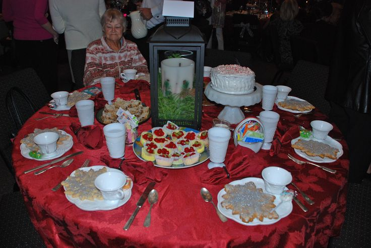 Christmas table decorations - Table Ideas For A Christmas Tea Coffee Christmas Tea