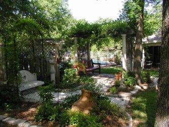 backyard sanctuary outdoor living pinterest