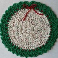 Crochet Christmas Wreath, Crochet Christmas Decorations