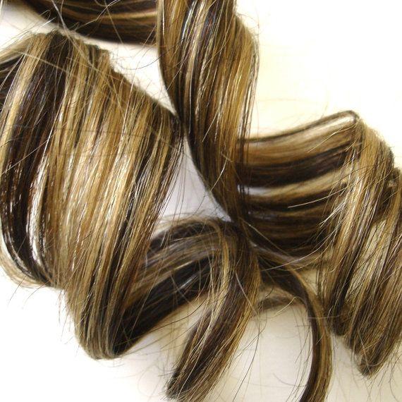 Light Caramel Brown Hair Extensions 112