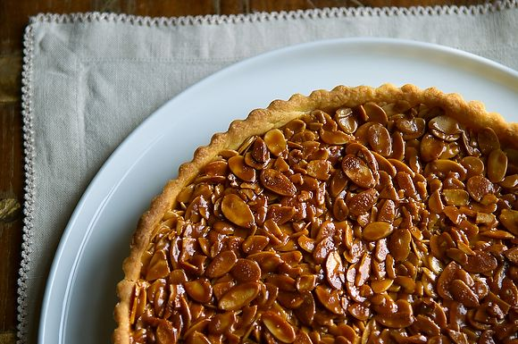 Gojee - Tangerine and Almond Shortbread Tart by Food 52