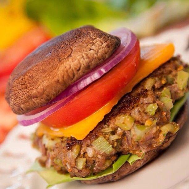 Healthy Cheeseburger Recipe | yummyyy :P | Pinterest