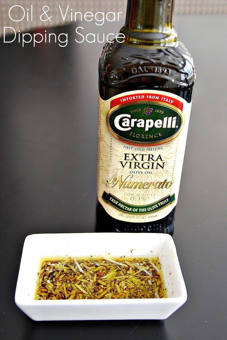 Olive Oil and Vinegar Dipping Sauce: | Herbs Oils & Vinegars | Pinter ...