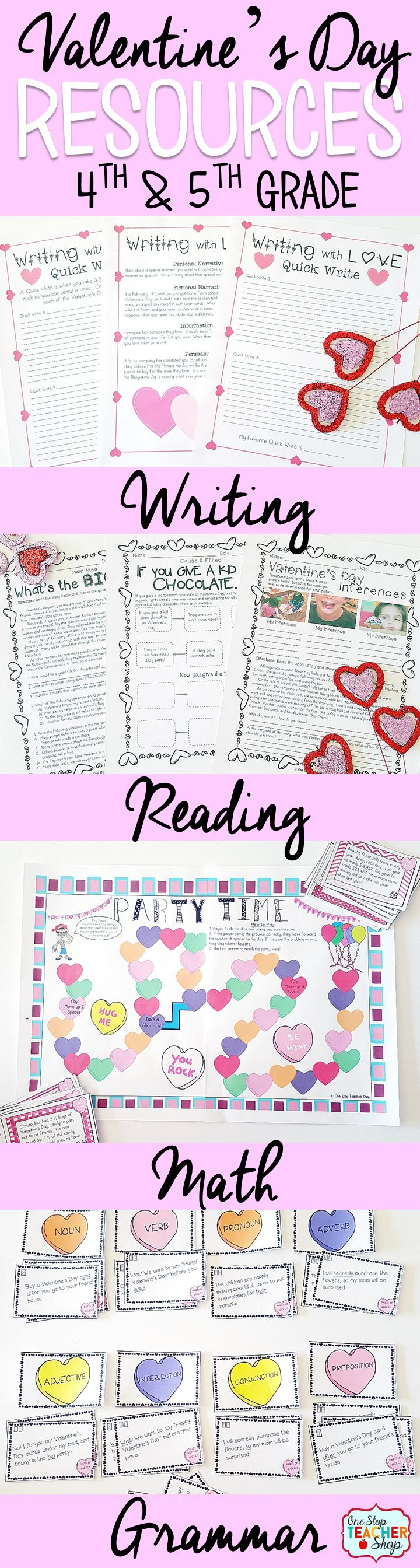 3 Valentines Day ESL Activities to Teach Your Students