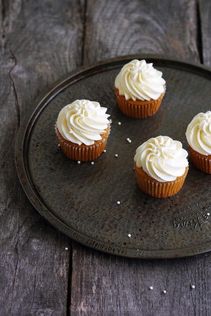 Spiced Pumpkin Cupcakes | The Great Pumpkin | Pinterest