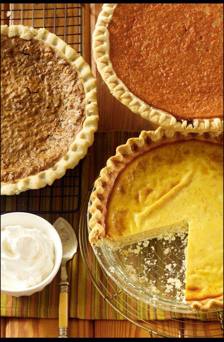 Eggnog Custard Pie | Recipe
