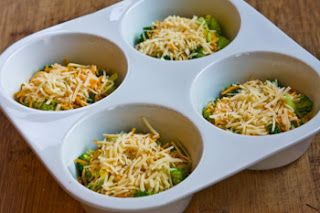 ... ®: Recipe for Baked Mini-Frittatas with Broccoli and Three Cheeses