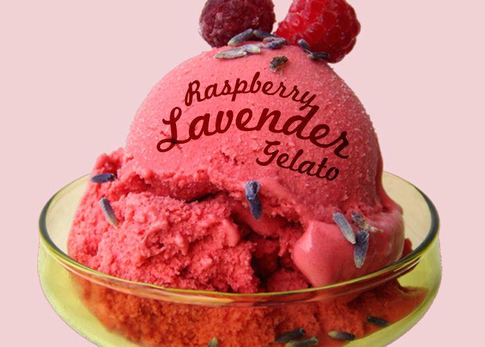 Raspberry Lavender Gelato makes me look impressive.