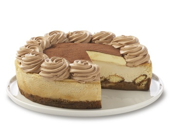 Tiramisu Cheesecake A delicate Coffee-flavored Cheesecake with Italian ...