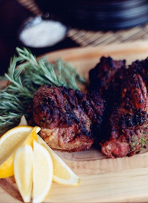 Grilled Butterflied Leg Of Lamb | ColinCowie.com