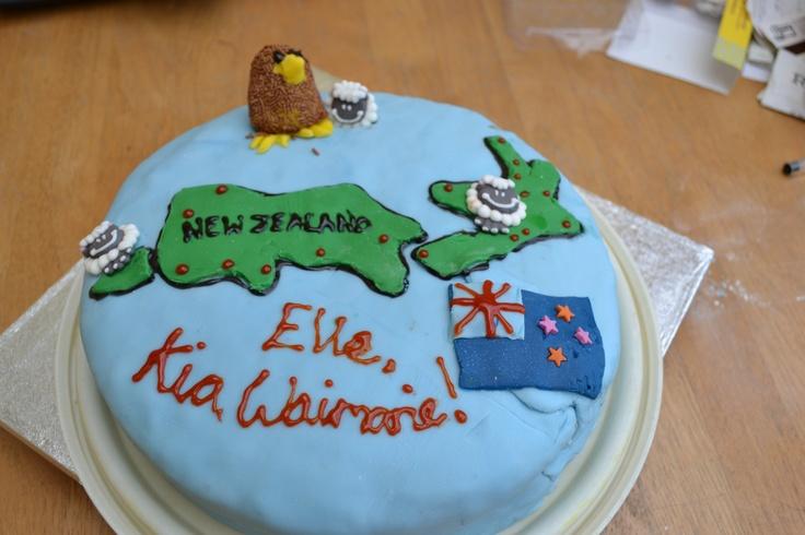 Cake Decorating Co Nz : New Zealand Bon Voyage Cake Knits and Bakes Pinterest