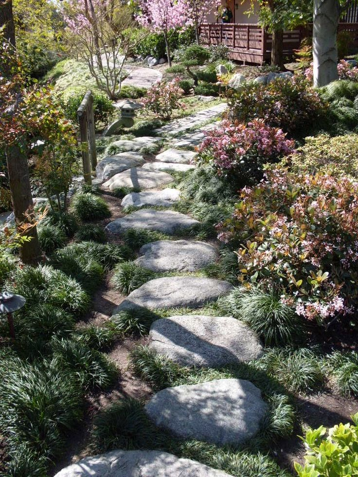 japanese garden path gardening pinterest