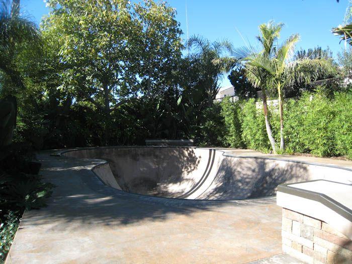 clients backyard skate bowl california skateparks pinterest