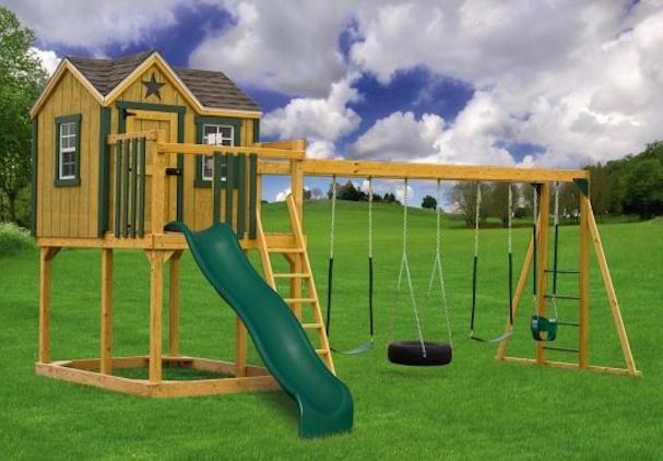 so cool swing set gardens pinterest
