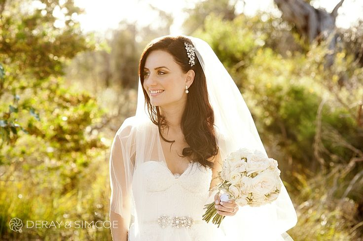 Romantic wedding hairstyle Location ~ Kings Park, Perth Photography by ...