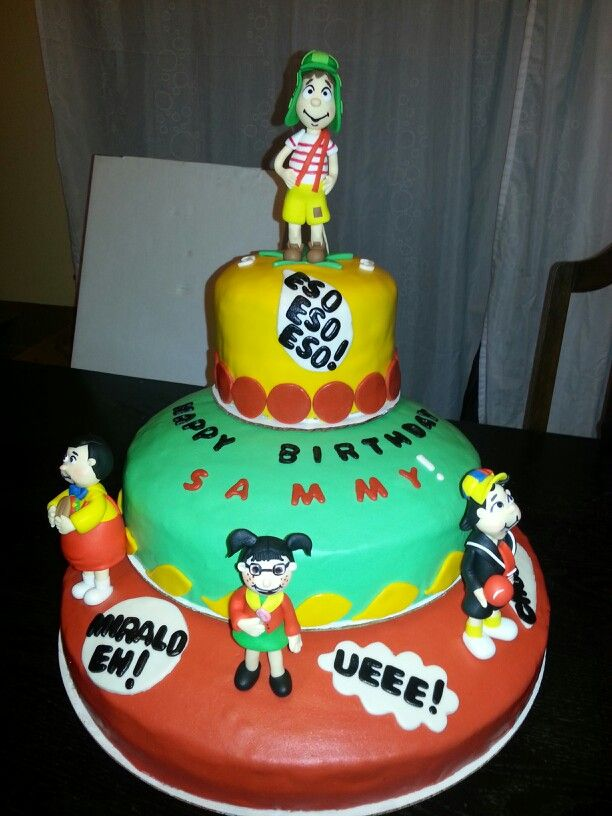 """El chavo del 8"" birthday cake"