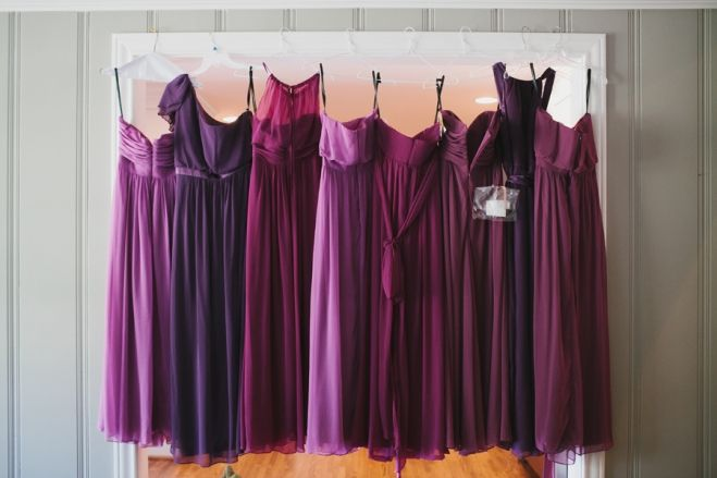 Pinterest for Purple ombre wedding dress
