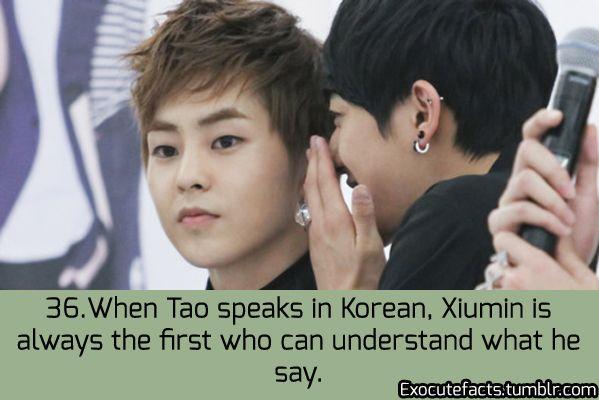 Xiumin Facts