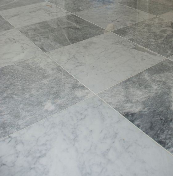 Marble Tile Floor Faux Pinterest
