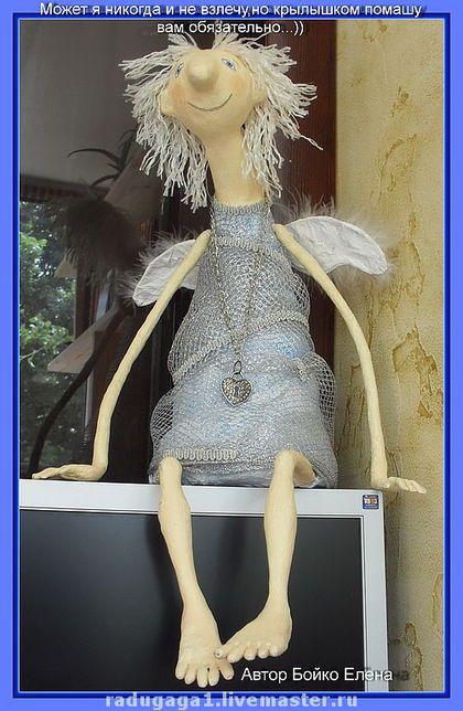 Авторская кукла ангел своими руками 89