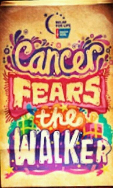 Cancer Fears The Walker by richies, via Flickr