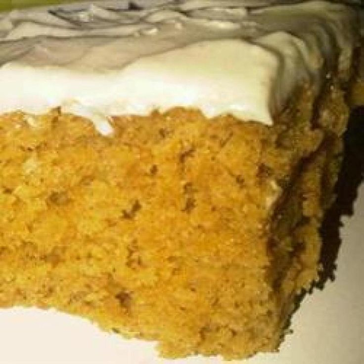 Paul's Pumpkin Bars | Sweetie Recipes | Pinterest