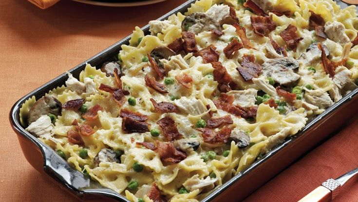 Bacon Chicken Bake - delicious chicken for dinner that's sprinkled ...