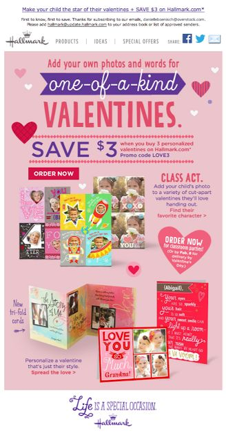 valentine's day email cards free