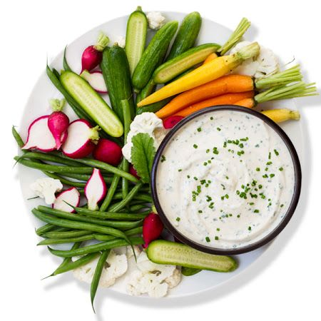 Miso-Tofu Ranch Dip | yummy | Pinterest
