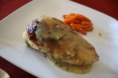 Lactose-Free Girl: Honey-Roasted Chicken with Herbes de Provence Gravy