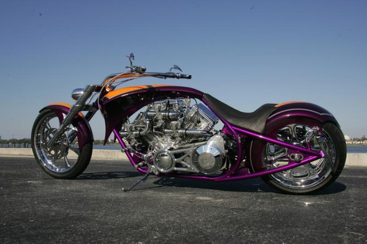 Harley Davidson!  Sure, why not add a third cylinder?