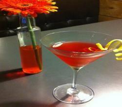 Poinsettia Cocktail | Libations | Pinterest