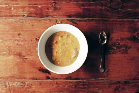 RECIPE: Roberta's Pea Soup Calls for Beer & Bacon from Edible ...