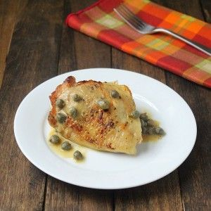 Chicken with Mustard Caper Sauce and Paleo Pen Pals - Living Low Carb ...