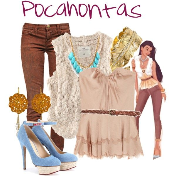 Pocahontas inspired outfits