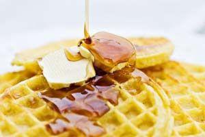 Gluten-free gingerbread waffles. | gluten is the devil | Pinterest