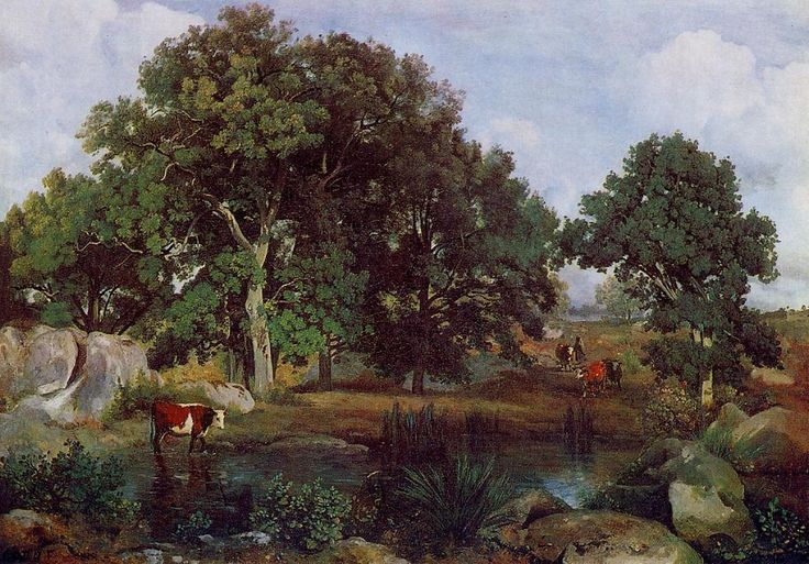 $320, Forest of Fontainebleau 1,   Artist: Corot