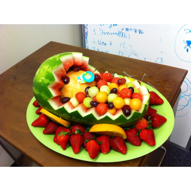 baby shower fruit basket holidays and gifts pinterest