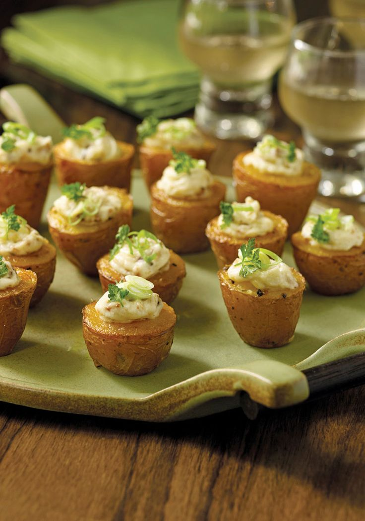Tiny Twice-Baked Potatoes with Smoked Paprika and Bacon Recipe